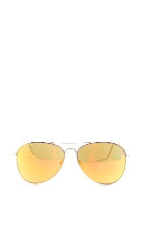 H&M Pilotenbril sleutelbloem-goud casual uitstraling