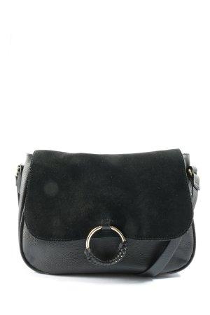 H&M Torba z klapą czarny W stylu casual