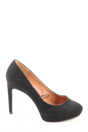 H&M Plateau-Pumps schwarz Business-Look