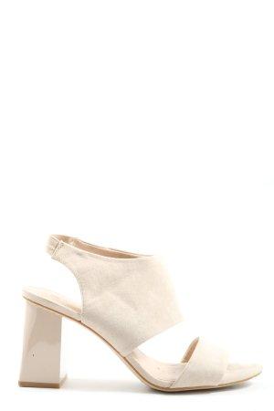 H&M Riemchen-Sandaletten wollweiß Casual-Look