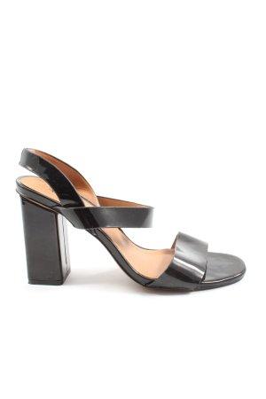 H&M Riemchen-Sandaletten schwarz Casual-Look