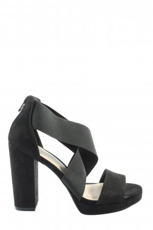 H&M High Heel Sandaletten schwarz Casual-Look