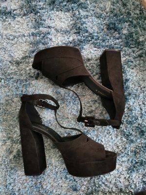 H&m plateau schuhe high heels gr 40 divided