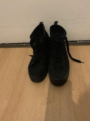 H&M Basket montante noir