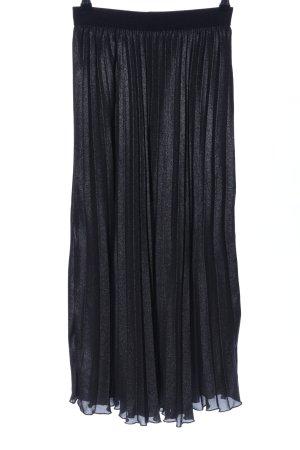 H&M Jupe plissée noir style décontracté
