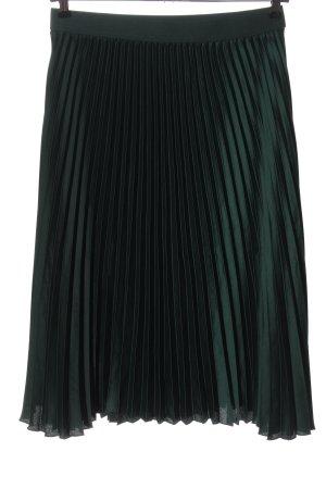 H&M Jupe plissée vert élégant