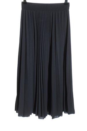 H&M Gonna pieghettata grigio chiaro stile casual