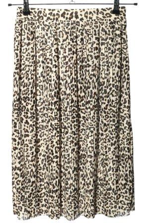 H&M Jupe plissée motif animal élégant