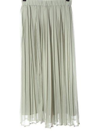 H&M Jupe plissée blanc cassé style décontracté