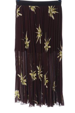 H&M Jupe plissée imprimé allover élégant