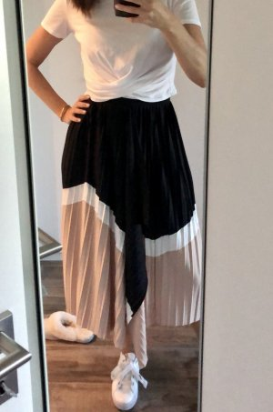 H&M Pleated Skirt multicolored