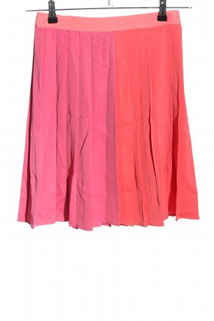 H&M Pleated Skirt pink casual look