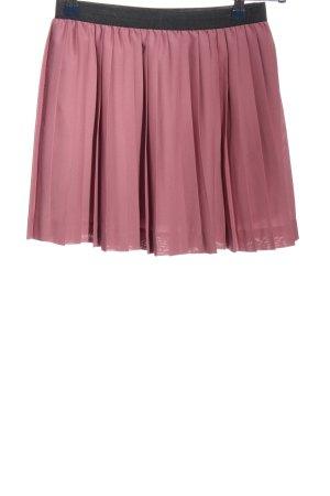 H&M Plisseerock pink Casual-Look