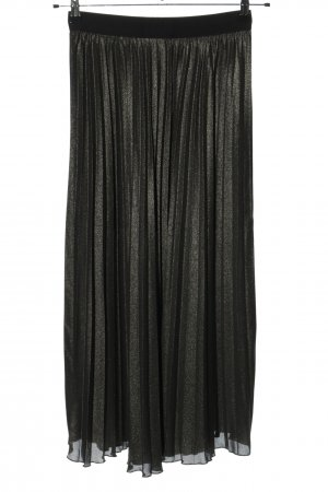 H&M Pleated Skirt black casual look