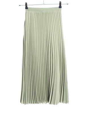 H&M Jupe plissée gris clair style décontracté