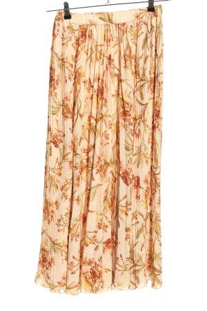 H&M Pleated Skirt allover print elegant