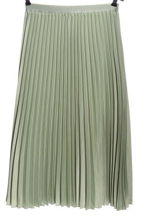 H&M Plisseerock khaki Casual-Look