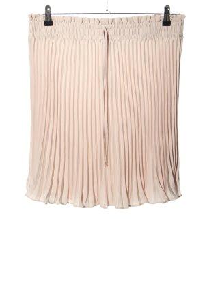 H&M Jupe plissée crème style décontracté