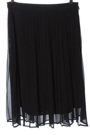 H&M Jupe plissée noir élégant