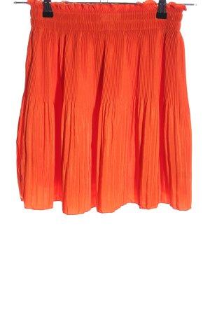 H&M Jupe plissée rouge style décontracté