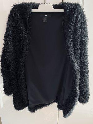 H&M Fur vest black