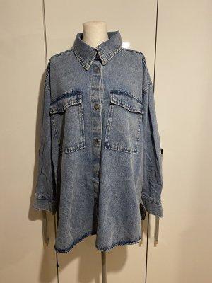 H&M Denim Shirt blue-light blue