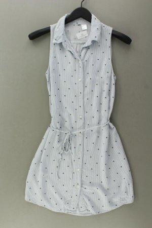 H&M Sukienka polo niebieski-niebieski neonowy-ciemnoniebieski-błękitny