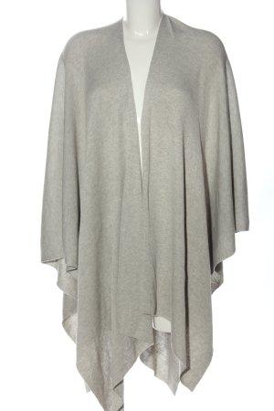 H&M Poncho gris claro moteado look casual