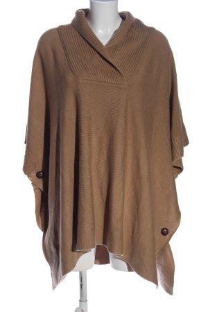 H&M Poncho braun Casual-Look