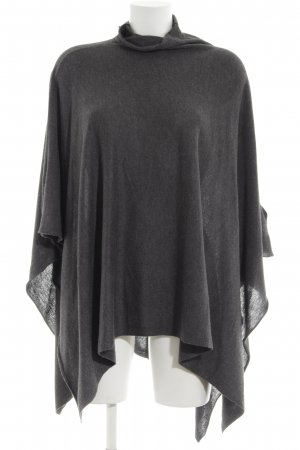 H&M Poncho lichtgrijs casual uitstraling