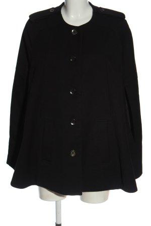 H&M Ponczo czarny W stylu casual