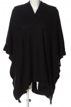 H&M Poncho black casual look