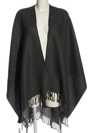 H&M Poncho schwarz Casual-Look