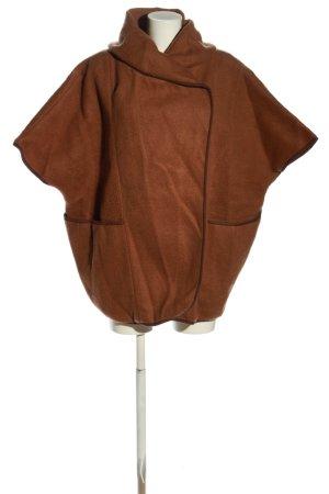 H&M Poncho brun style décontracté