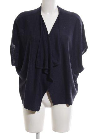 H&M Poncho blau Casual-Look