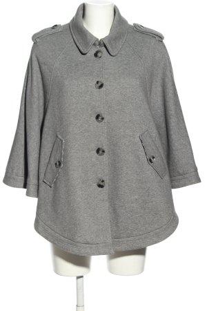 H&M Ponczo jasnoszary Melanżowy W stylu casual