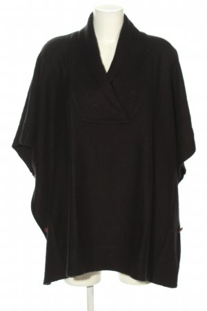 H&M Poncho brown casual look