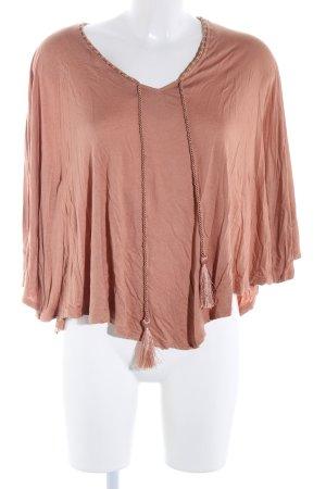 H&M Poncho marrone stile casual