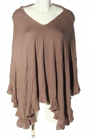 H&M Poncho pink Casual-Look