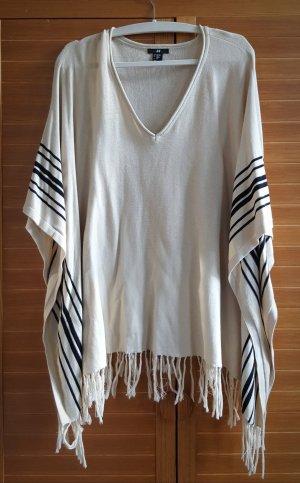 H+M Poncho (One Size) aus reiner Baumwolle