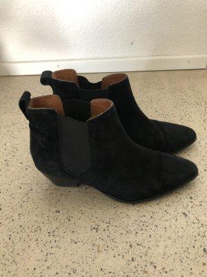 H&M Premium Chelsea Boots Leder 41