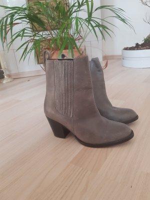 H&M Premium Chelsea Boot argenté-gris