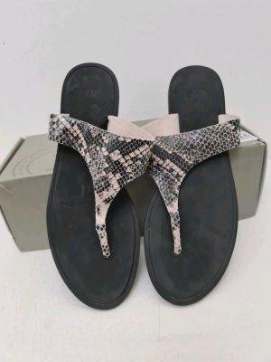 H&M Premium Toe-Post sandals multicolored mixture fibre