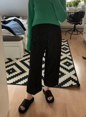 H&M Premium Culotte noir laine