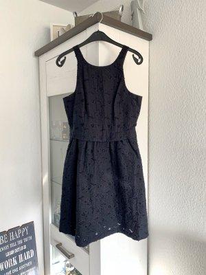 H&M Premium Kleid Party Abendkleid Cocktailkleid Hochzeit blau L 40