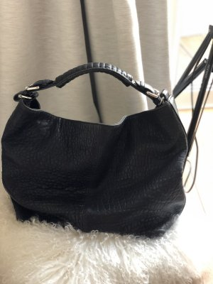 H&M Premium Leather Bag black