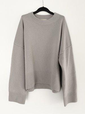 H&M Premium Pullover aus Kaschmir Strick Oversize Rundhals Trend Ausverkauft Blogger