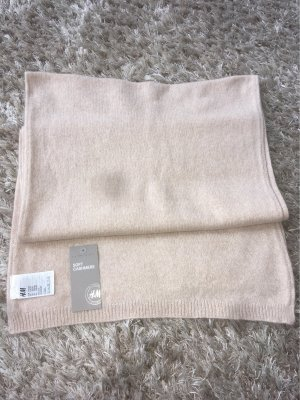 H&M Premium Cashmere Scarf oatmeal cashmere