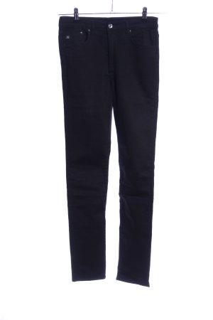 H&M Premium Skinny Jeans schwarz Casual-Look