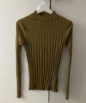 H&M Premium Wollshirt gerippt XS NEU